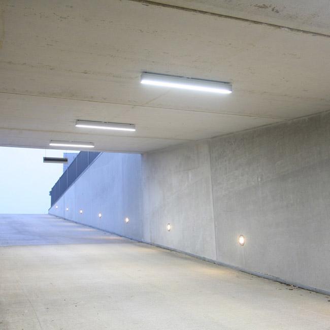Verlichting en verdeeltechniek voor de openbare ruimte
