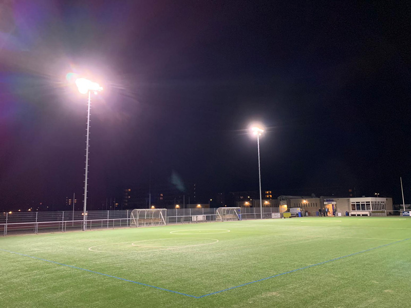 Kwalitatieve LED verlichting sportveld korfbal